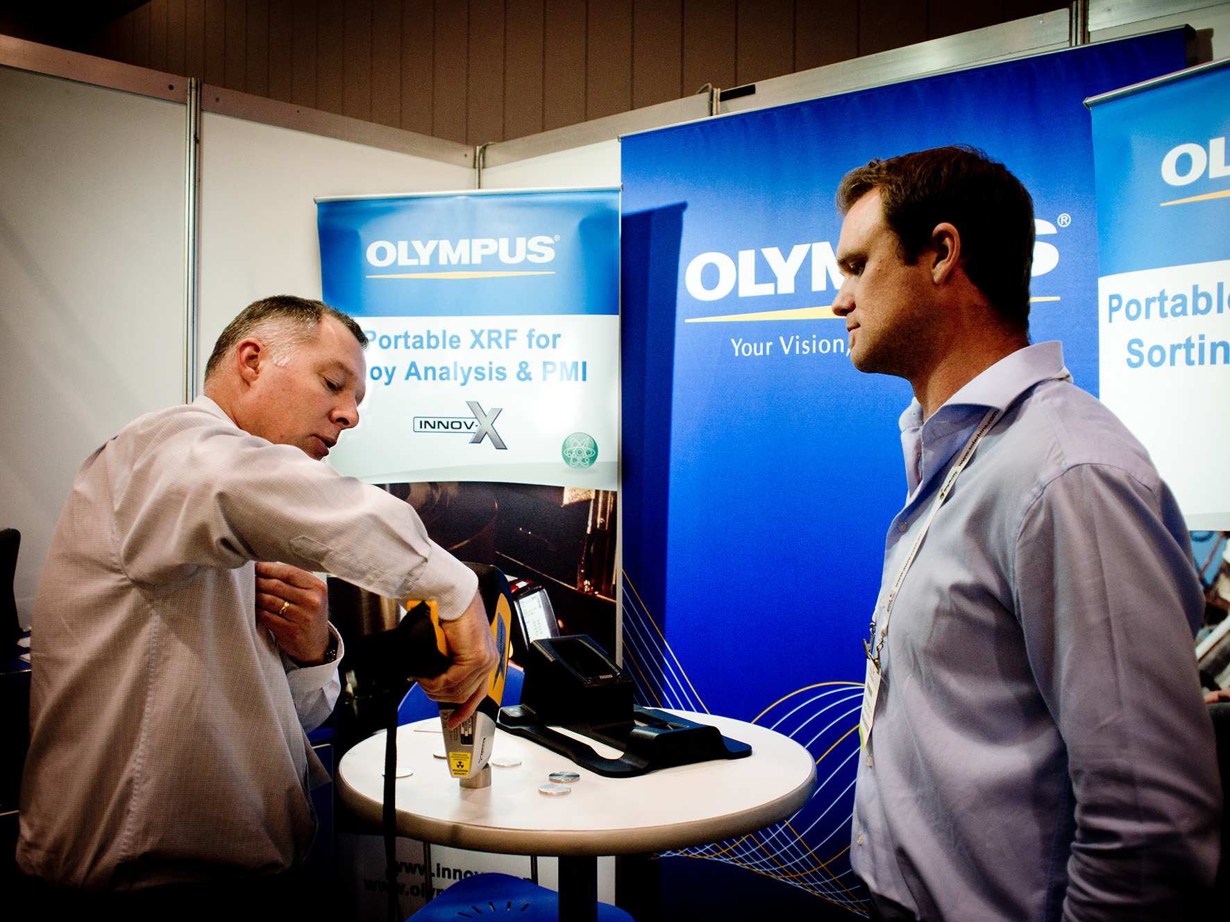Olympus instrumentation for the recycling industry