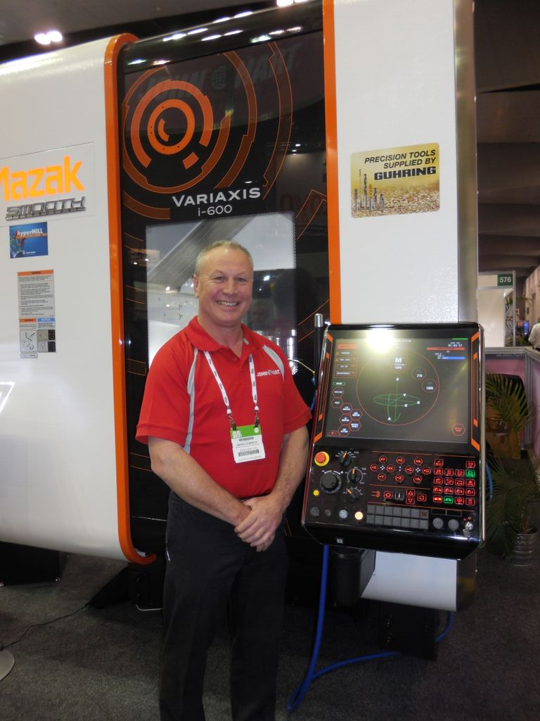 """AUSTECH 2015 –""""new"""" machine tools – stylish, user-friendly, connected"""