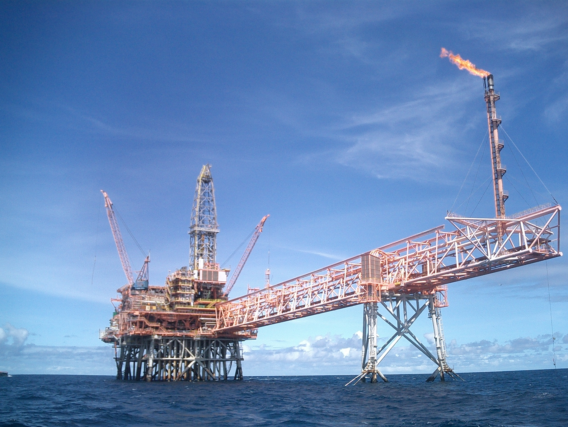 Remote detection of oil & gas infrastructure corrosion