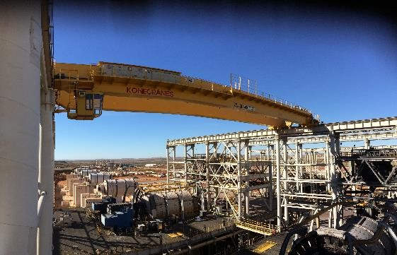 Konecranes units and onsite maintenance scales new heights at Sino Iron